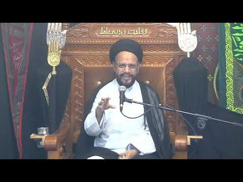 5th Majlis Ashra-E-Zainabia s.a Shab 16th Safar 1441/14.10.2019 Topic:Critical Thinking I HI Syed Muhammad Zaki Baqri-Ur