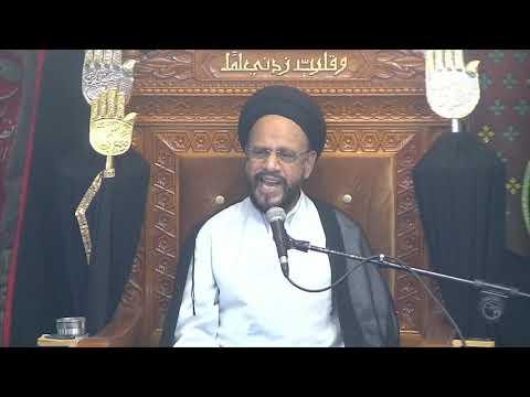 6th Majlis Ashra-E-Zainabia s.a Shab 17th Safar 1441/15.10.2019 Topic:Critical Thinking-HI Syed Muhammad Zaki Baqri-Urdu