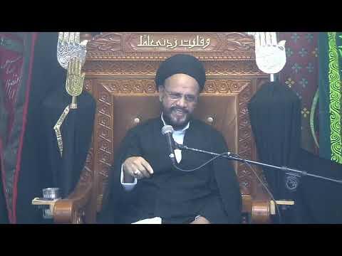 7th Majlis Ashra-E-Zainabia s.a Shab 18th Safar 1441/16.10.2019 Topic:Critical Thinking-HI Syed Muhammad Zaki Baqri-Urdu