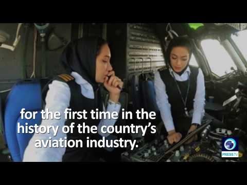 [17/10/19] Female pilots take control of Iranian domestic flight for the first time - English