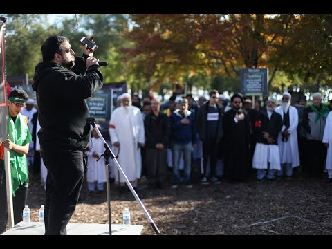Kerbala Kerbala Latmiya - Arbaeen Walk Toronto Oct  20, 2019 - English
