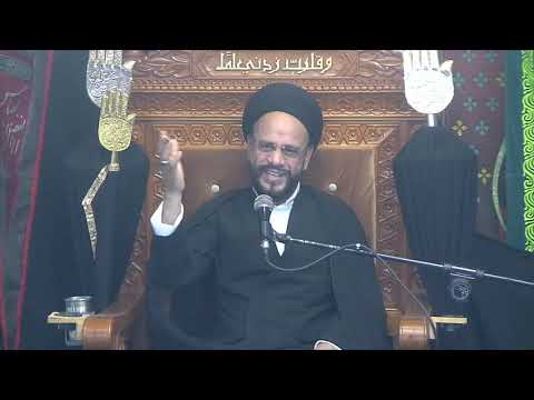 9th Majlis Ashra-E-Zainabia Shab 20th Safar 1441/18.10.2019 Topic:Critical Thinking-HI Syed Muhammad Zaki Baqri-Urdu