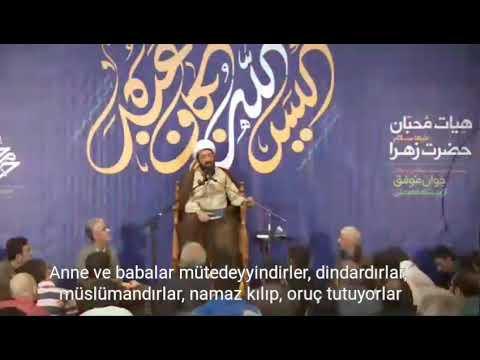 Ahlâkın Çocuklar Üzerindeki Etkisi 🔶 Hüccet\'ül İslam Mesud Ali - Farsi sub Trukish