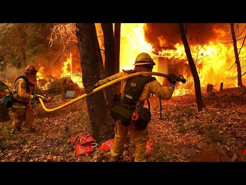[30/10/19] Firefighters battle California fires ahead of strong winds - English