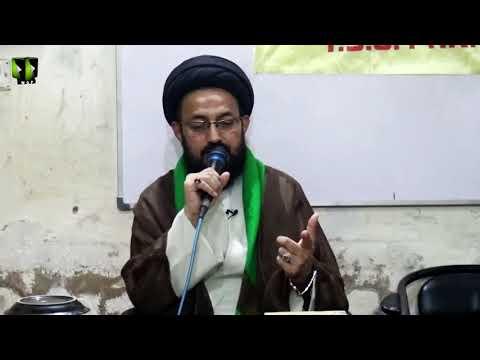 [Lecture] Topic: شہادت سلیمانی ، الہام از شہادت فاطمی | H.I Sadiq Raza Taqvi - Urdu
