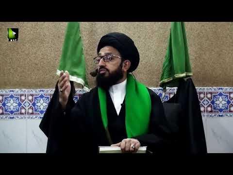 [Majlis 1] Tehreek-e-Fatimi May Ayaat-e-Qurani Say Istadlaal   H.I Sadiq Raza Taqvi - Urdu