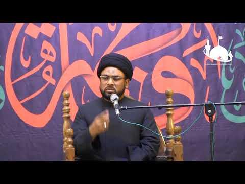 Ayyam-e-Fatmiyah 1st  Majalis   Maulana Zaigham Rizvi   Holy Shrine Bibi Masooma e Qom - Urdu