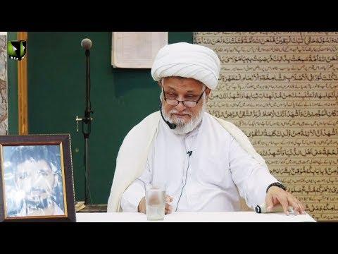 [02] Dars-e-Ikhlaaq   درس اخلاق   H.I Ghulam Abbas Raesi   26 February 2020 - Urdu