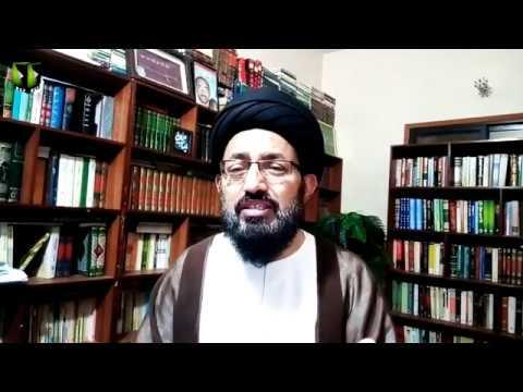 [Lecture] Roz-e-Wiladat Wali-e-Asar (atfs) , Paigham Rehber Inqalab e Islami | H.I Sadiq Raza Taqvi - Urdu