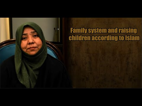 Family system and raising children according to Islam | Class 1 | Khanam Sakina Mahdavi - Urdu