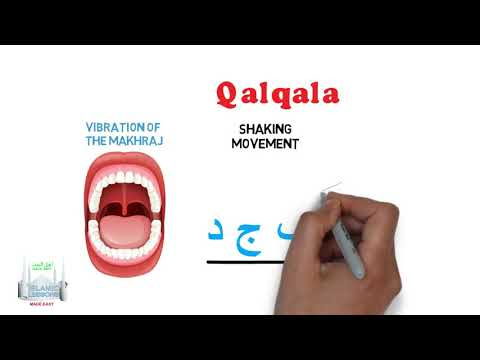 Tajweed Made Easy - Qalqala - English