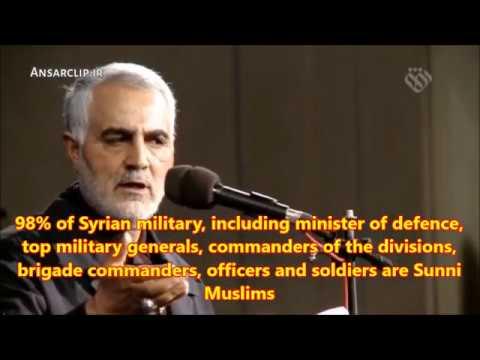 Martyr Qasem Soleimani Explains Syrian War - Farsi sub English