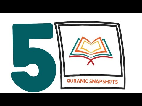 [Buid relationship with Quran] Quranic Snapshot of one Ayat from the Juz#5 - English