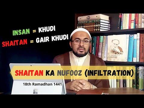 [18] Hazrat Adam (as) - Shaitan Ka Nufooz (Infiltration) - Urdu