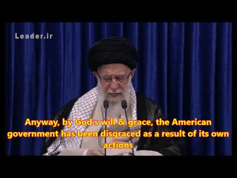 Ayatollah Khamenei: \'Let Them Breathe\' - Farsi sub English
