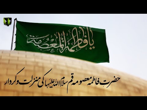 [Clip] Hazrat Fatima Masooma Qom (sa) Ke Manzilat wa Kirdaar | Moulana Ali Naqi Hashmi - Urdu