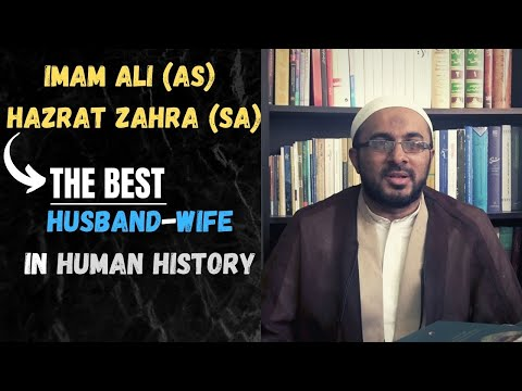 Imam Ali (as) & Hazrat Zahra (sa) - BEST Husband-Wife In Human History - Urdu