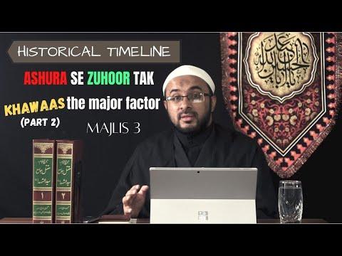 [3] Insan-e-Kamil Ka Safar, Khilqat-e-Adam (as) Se Zuhoor-e-Mehdi (as) Tak - Muharram 1442 - Urdu