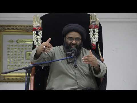 Majlis 7 | Topic: Hube Ilahi Aur Karbala | Maulana Kazim Abbas Naqvi Muharram 1442/2020 Urdu