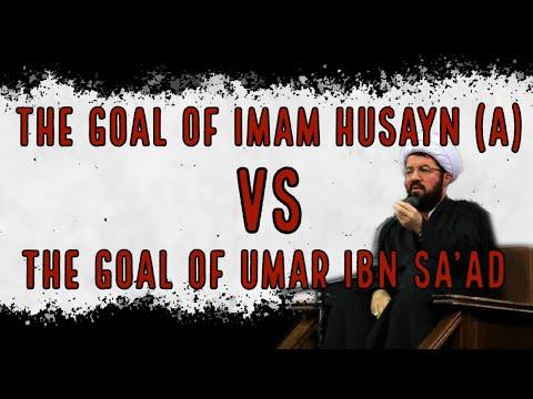 [Clip] The Goal of Imam Husayn (a) VS the Goal of Umar Ibn Sa\'ad | H.I. Masoud A\'alee  Fasrsi sub English