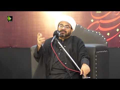[02] Khilqat o Khilafat e Adam (a.s) | حجّۃ الاسلام مولانا محمد رضا داؤدانی | Urd