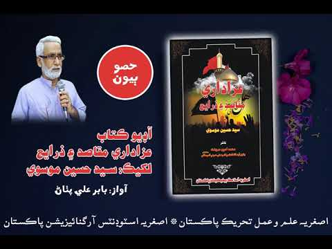 [Audio Book] Azadari Maqasid aen Zarae by Syed Hussain Moosavi   Part2   Qatlan Hussain Asl ker  - Sindhi