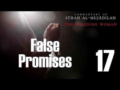 False Promises - Surah al-Mujadilah - 17 | English
