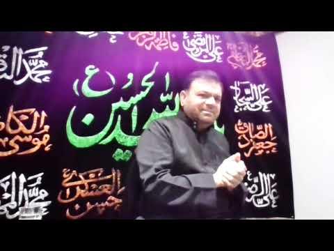 [Majlis] Seerat of Imam Zainul Abedeeen (as) | Br. Fayyaz Mehdi | Urdu