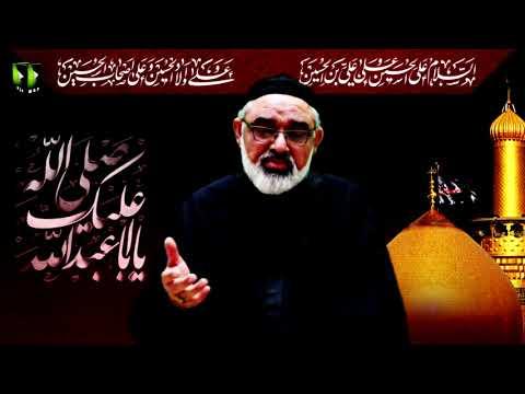 [Majlis-e-Aza] Shahadat Rasool Allah (saww) Imam Hasan(as) | H.I Ali Murtaza Zaidi | 27th Safar 1442 | U