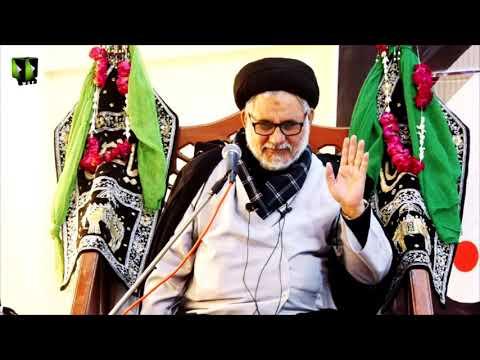 [Majlis 1] Ayaam-e-Fatimiya (sa) - 1442 |  H.I Hasan Zafar Naqvi | Urdu