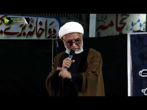 [Speech] Ahtejaji Dharna Karachi | H.I Mirza Yousuf Hussain | 05 January 2021 | Urdu