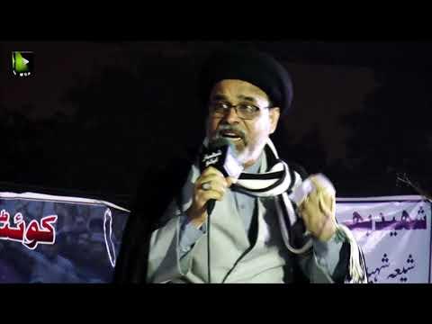 [Speech] Ahtejaji Dharna Karachi | Day 2 | H.I Haider Abbas Abidi | 06 January 2021 | Urdu