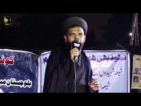[Speech] Ahtejaji Dharna Karachi | Day 2 | Moulana Ali Anwar | 06 January 2021 | Urdu