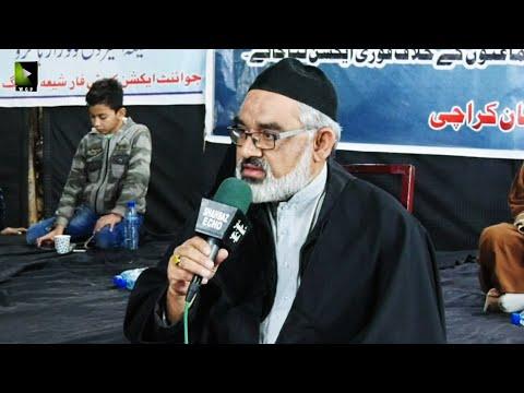 [Majlis] Ahtejaji Dharna Karachi | Day 3 | H.I Ali Murtaza Zaidi | 07 January 2021 | Urdu