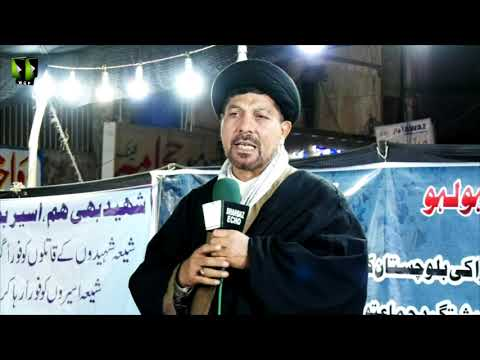 [Speech] Ahtejaji Dharna Karachi | Day 3 | Moulana Baqar Abbas Zaidi | 07 January 2021 | Urdu