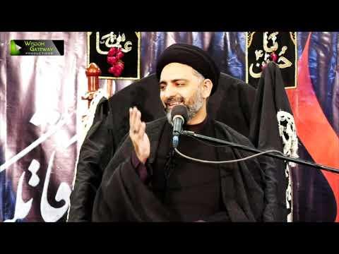 [2] Syeda Fatima Zehra (sa) Kamal-e-Bandagi ka Mazhar | H.I Nusrat Abbas Bukhari | Ayaam-e-Fatimiya | Urdu