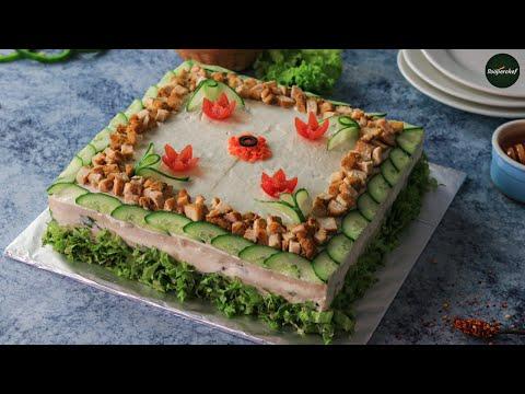 Chicken Tikka Sandwich Cake All languages