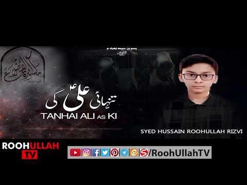 Marsia Khwani | مرثیہ خوانی | Tanhai Ali as ki | Roohullah TV | Urdu