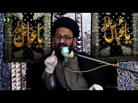 [Majlis] Topic: Insani Zindagi Or Naimaton Ka Shukar   H.I Sadiq Raza Taqvi   Urdu