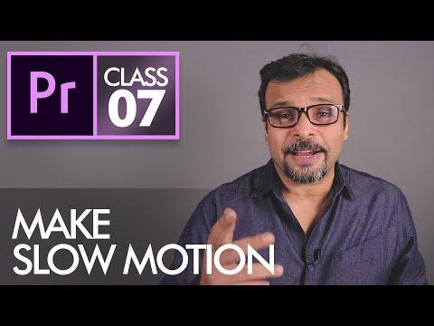 Rate Stretch Tool - Adobe Premiere Pro CC Class 7 - Urdu / Hindi