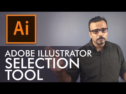 Adobe Illustrator Training - Class 1 - Selection Tool Urdu / Hindi