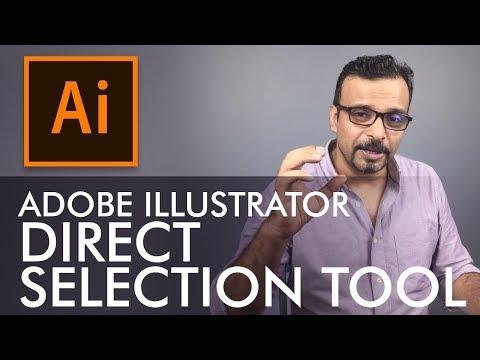 Adobe Illustrator Training - Class 2 - Direct Selection Tool Urdu / Hindi