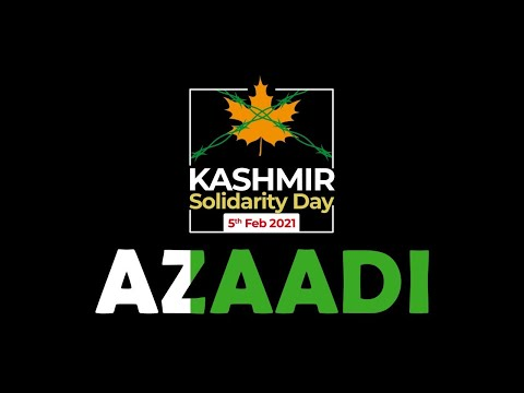Azaadi | Kashmir Solidarity Day | 5th Feb 2021 | ISPR - Urdu English