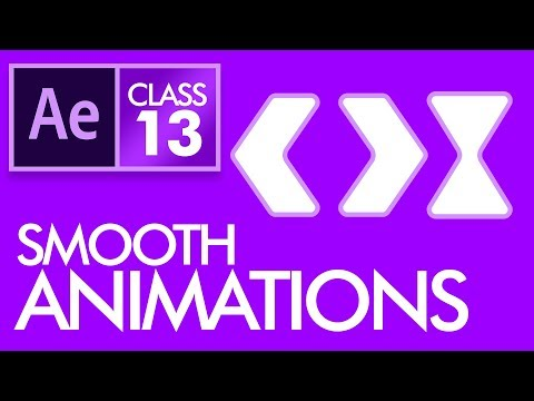 Ease in, Ease Out & Easy Ease in After Effects Class 13 - Urdu / Hindi