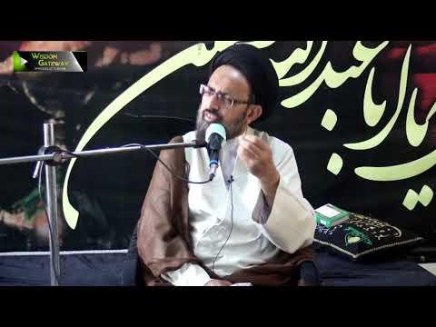 [Majlis] Topic: Rehmat -e- Khuda Or Mah -e- Rajab Ke Duaain   H.I Sadiq Raza Taqvi   Urdu