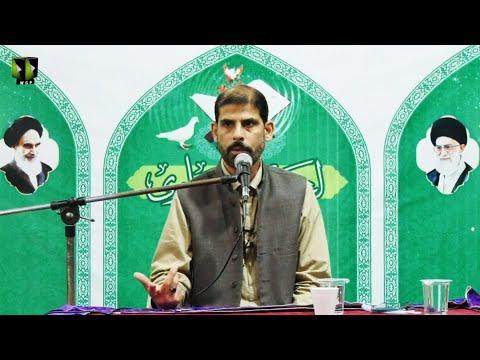 [Dars] Wilayat -e- Imam Ali (as) Kay Taqazay   Aytekaaf-e-Alwi 1442   Moulana Mubashir Haider Zaidi   Urdu