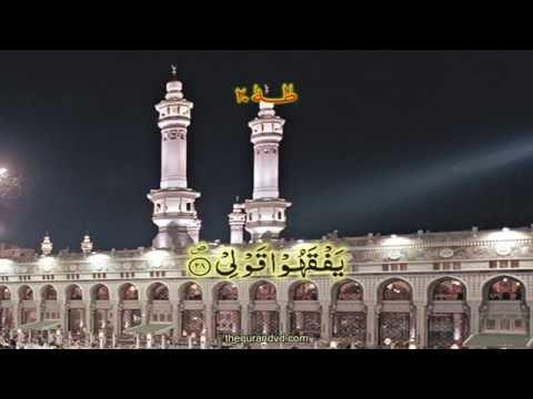 Chapter 20 Ta Ha | HD Quran Recitation By Qari Syed Sadaqat Ali - Arabic