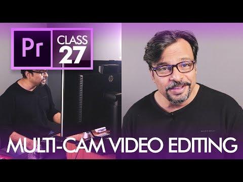 Multi Camera Editing in Adobe Premiere Pro Class 27 - Urdu / Hindi