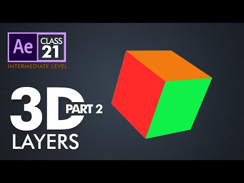 3D Layers in After Effects Part 2 Class 21 - اردو / हिंदी