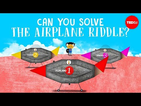 Can you solve the airplane riddle? - Judd A. Schorr - English
